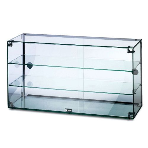 Lincat Seal Glass Display Cabinet rear sliding doors  GC39D